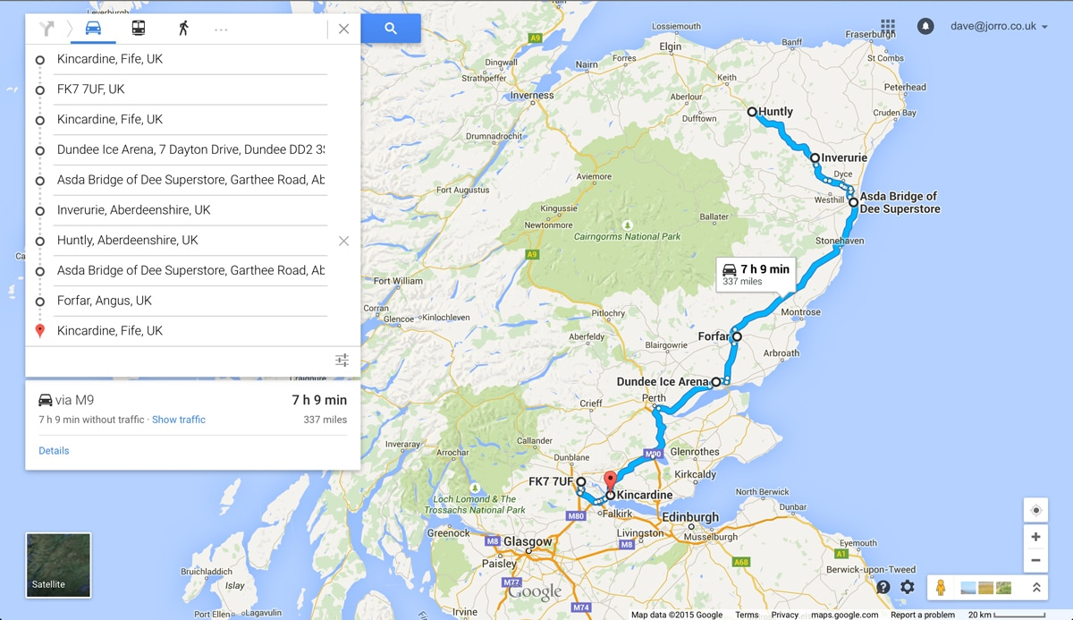 337 Miles Across Rural Scotland In 2 Days With A Nissan