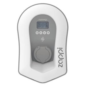 Zappi white socket charger
